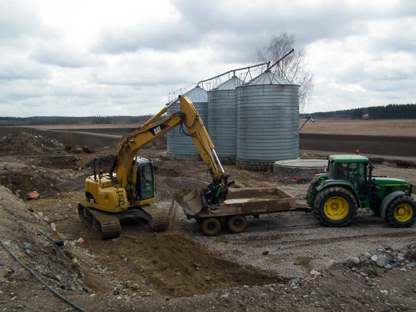 2013-04-30 The ground work has begun.