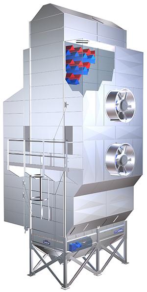 Continuous Grain Dryer Tk Tornum