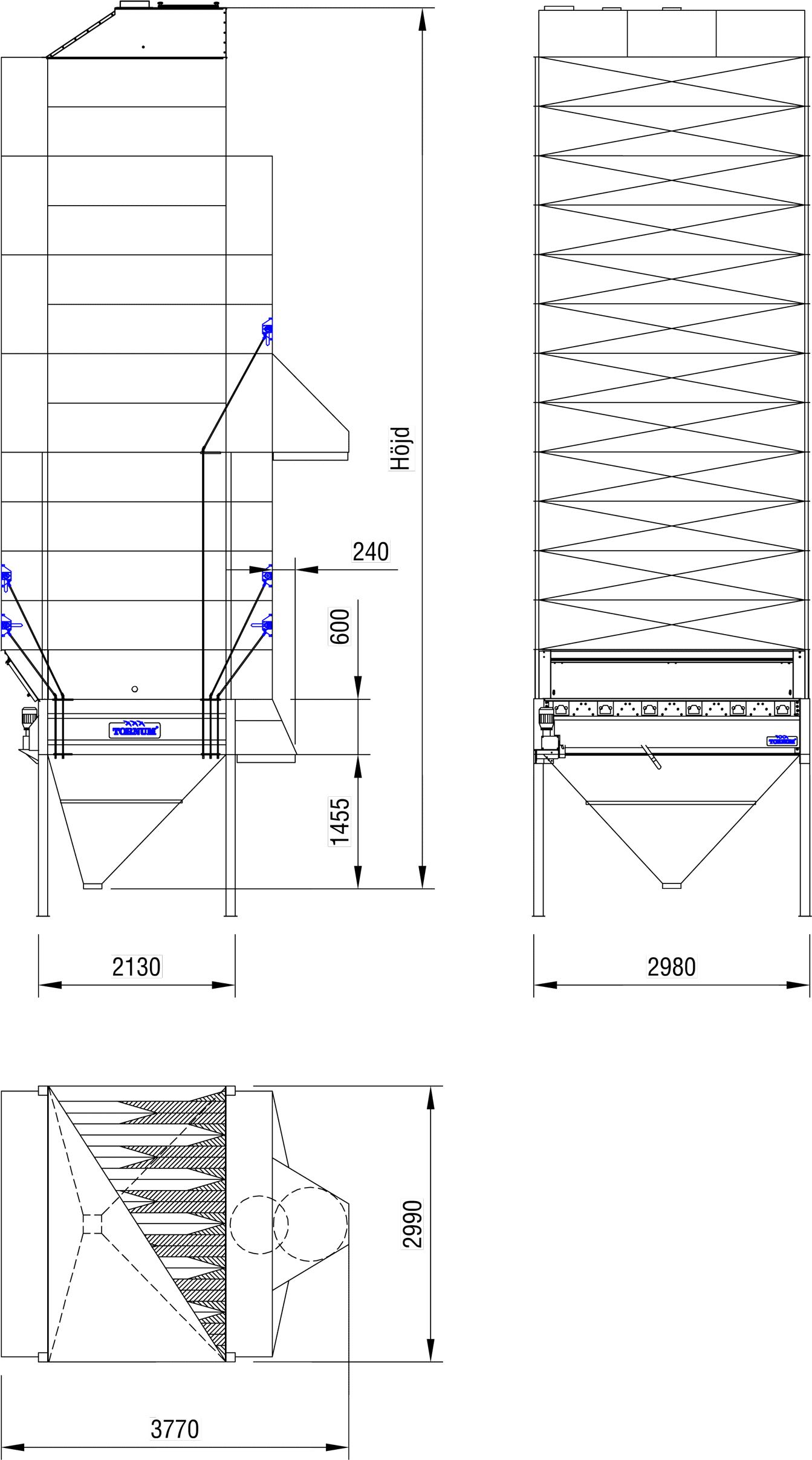 continuous grain dryer tk