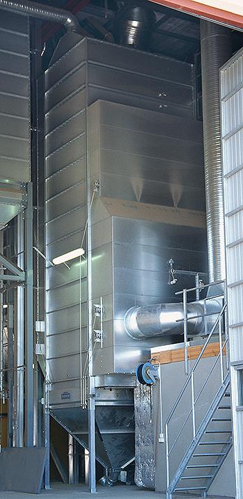 Grain dryer TK