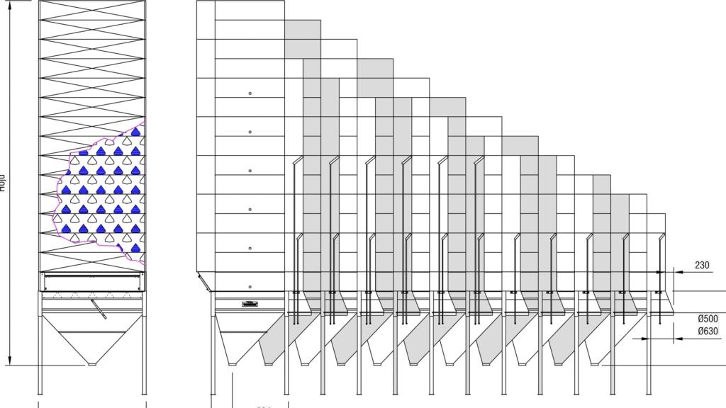 Ritning på TS3 satstork - Tornum