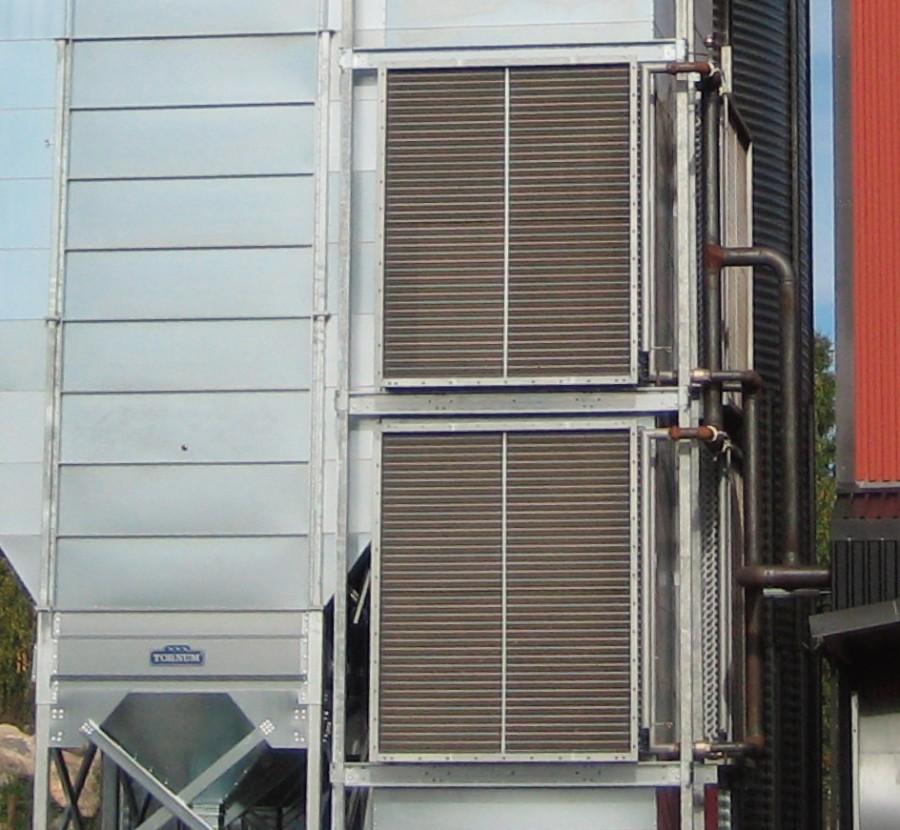 Värmeväxlare för varmvatten
