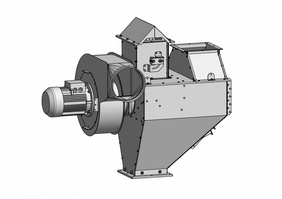 DC Remover 80-100t/h