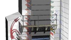 3D-ritning på HR spannmålstork - Tornum