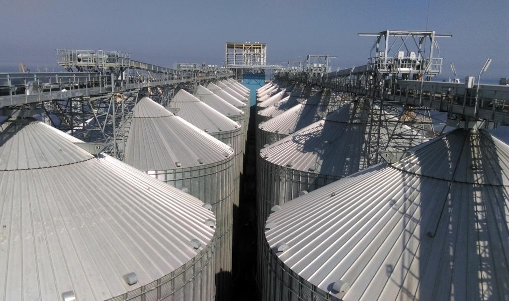 20 lagringssilo på 10000 ton vardera