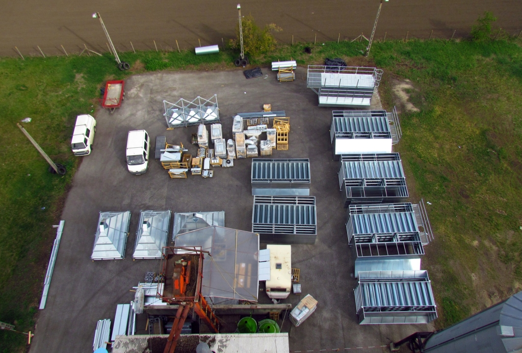 2012-04-04 The construction site from above .