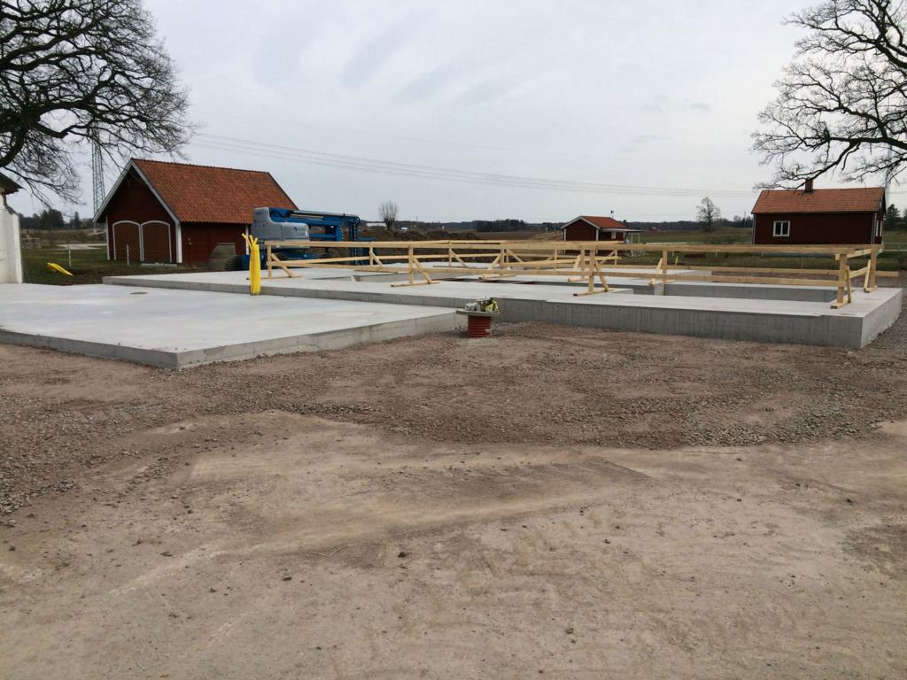 2016-03-30 Färdig betongplatta.