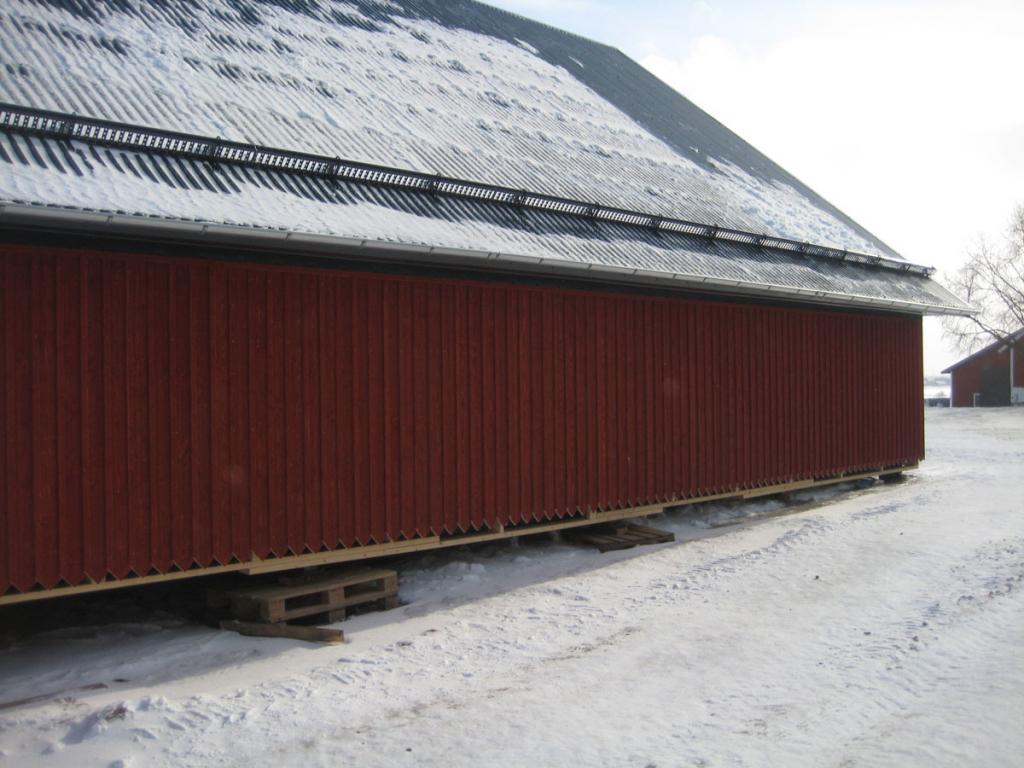 Även snörasskydd har satts upp