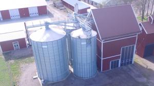 Följ bygget på Väsby gård i Sollentuna som byggdes av Tornum 2018