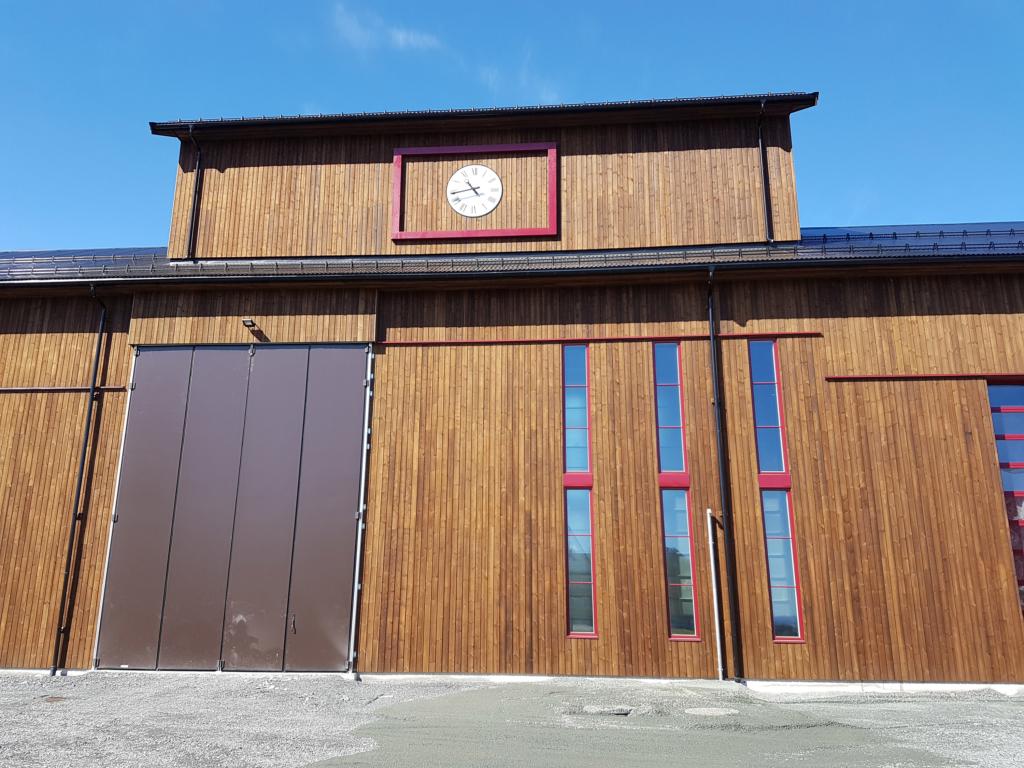 2017-06-02 Färdig fasad.